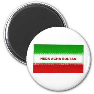 Neda Agha Soltan 2 Inch Round Magnet
