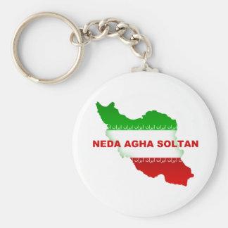 Neda Agha Soltan Keychain