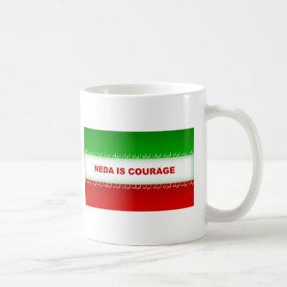 Neda is Courage Coffee Mug