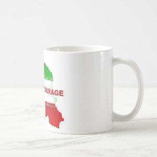 Neda is Courage Coffee Mugs