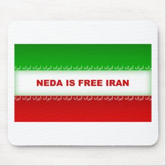 Neda is Free Iran Mouse Pad