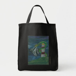 Neda Nashu Lighthouse Serpent Tote Bag