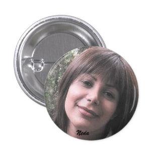 NEDA SOLTANI, Neda 1 Inch Round Button