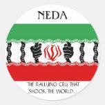 NEDA, The Rallying Cry Sticker