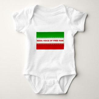 Neda - Voice of Free Iran Baby Bodysuit