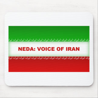 Neda - Voice of Iran Mouse Pad