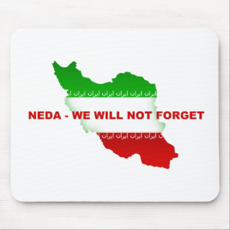 Neda - We will not forget Mouse Pad