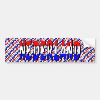 Nederland Bumper Sticker