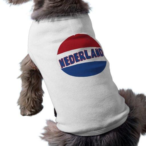 Nederland Camisetas De Mascota