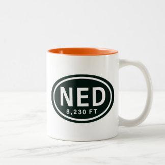 Nederland CO 8,230 FT Elevation NED Mug