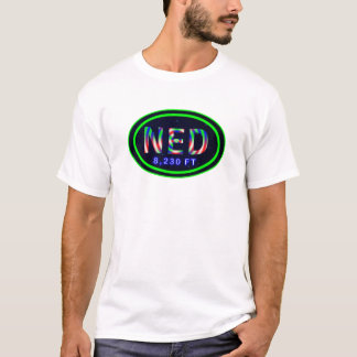 Nederland CO 8,230 FT Tie Dye T-Shirt