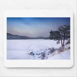 Nederland Colorado Barker Reservoir Winter Secnic Mouse Pad
