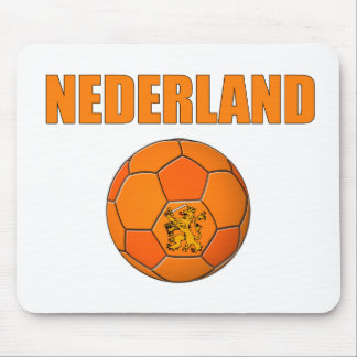 Nederland football t-shirt mouse pad