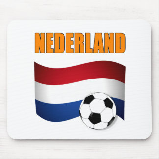 Nederland football t-shirts mouse pad