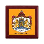 Nederland Giftbox Nederland sieraden doos mannen Trinket Box