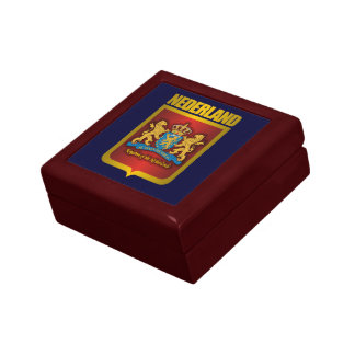 """Nederland Gold"" Keepsake Box"
