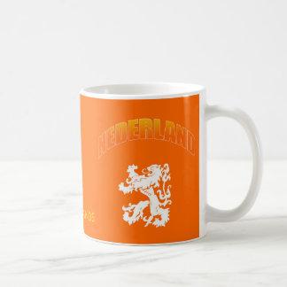 Nederland leeuw Voetbal wk Coffee Mugs