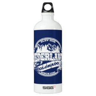 Nederland Old Circle Blue Aluminum Water Bottle