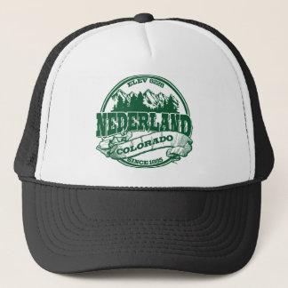 Nederland Old Circle Green Trucker Hat