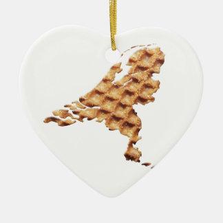 Nederland Stroopwafel land Christmas Ornament