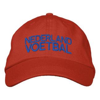 NEDERLAND VOETBAL EMBROIDERED BASEBALL CAP