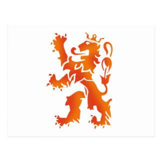 Nederland wereldkampioen 2010 lion postcards