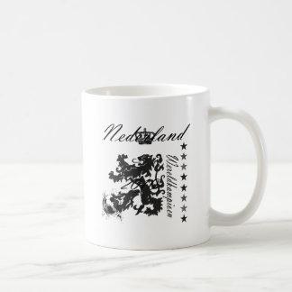 Nederland Wereldkampioen leeuw 2010 Coffee Mugs