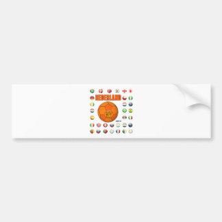 Nederland World Cup 2010 t-Shirt Bumper Sticker