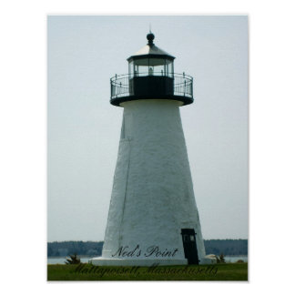 Ned's Point Lighthouse, Massachusetts Print