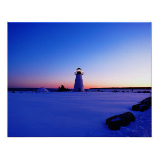 Ned's Point Lighthouse Print
