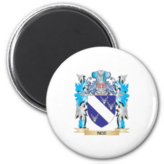 Nee Coat of Arms - Family Crest 2 Inch Round Magnet