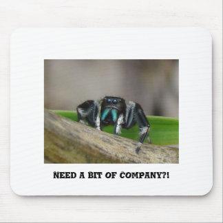 Need a Bit of Company II Mouse Pad