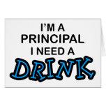 Need a Drink - Principal Card
