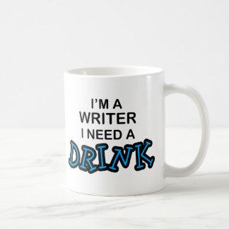 Need a Drink - Writer Coffee Mug