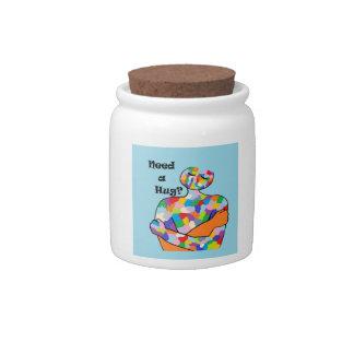 Need a Hug? Candy Jar