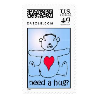 Need a hug? stamps