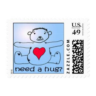 Need a hug? postage