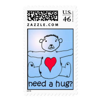 Need a hug? stamp