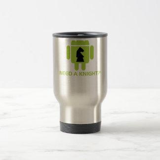 Need A Knight? (Software Developer Humor) Travel Mug