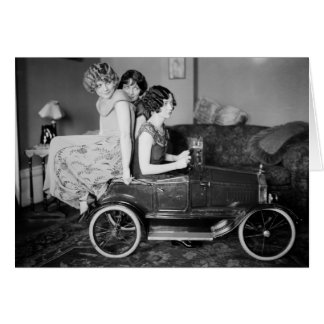 Need a Lift? 1920s Card
