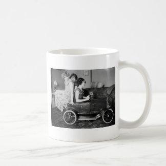 Need a Lift? 1920s Coffee Mug