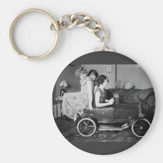 Need a Lift? 1920s Keychain