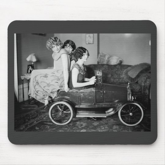 Need a Lift? 1920s Mouse Pad