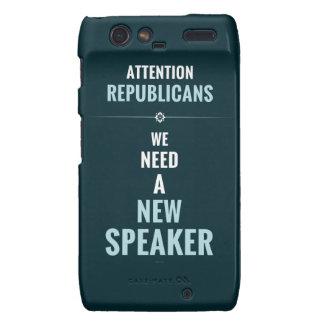Need A New Speaker Motorola Droid RAZR Cover