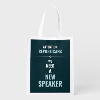Need A New Speaker Grocery Bag