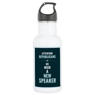 Need A New Speaker Stainless Steel Water Bottle