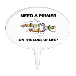 Need A Primer On The Code Of Life? Cake Toppers