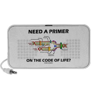 Need A Primer On The Code Of Life? Mini Speakers