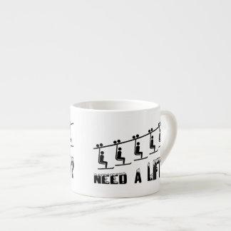 Need A Ski Lift Espresso Cup