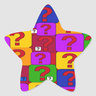 need an answer star sticker